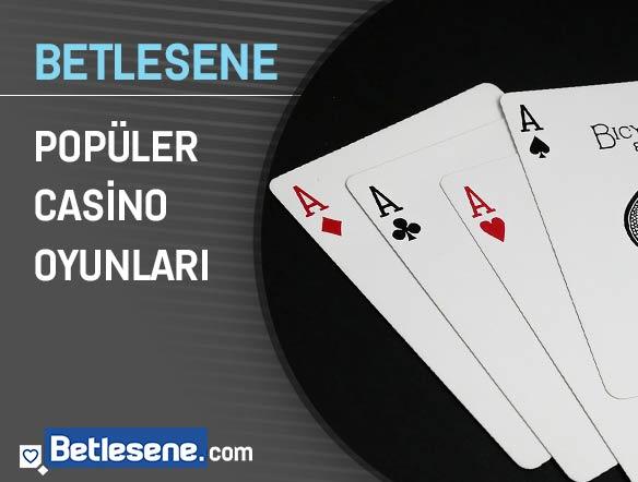 betlesene populer casino oyunlari